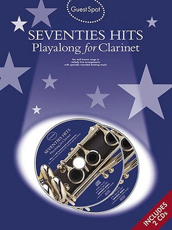 Guest Spot: Seventies Hits: Clarinet: Book & CD