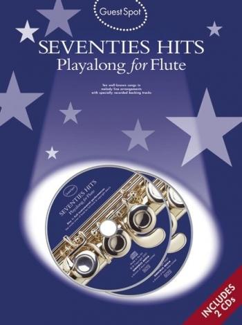 Guest Spot: Seventies Hits: Flute: Book & CD
