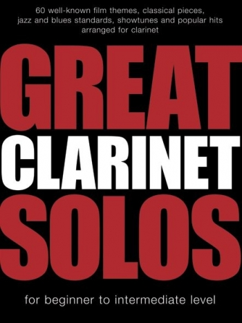 Great Clarinet Solos: Clarinet  Part & Chords