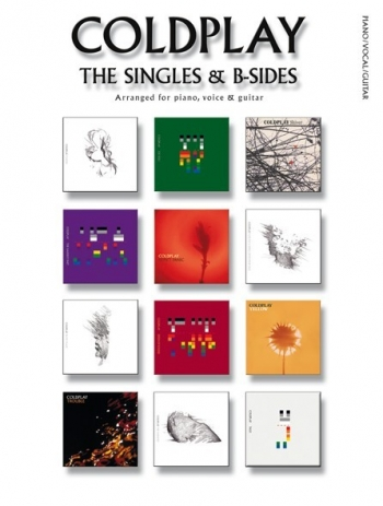 Coldplay: The Singles & B Sides: Piano Vocal Guitar: Album