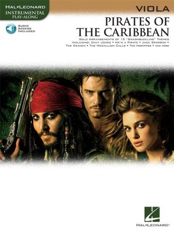 Pirates Of The Caribbean: Viola: Book & CD