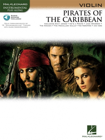 Pirates Of The Caribbean: Violin: Book & CD