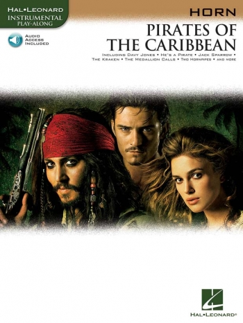 Pirates Of The Caribbean: French Horn: Book & CD
