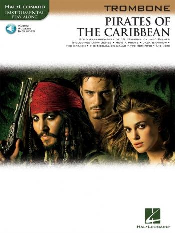 Pirates Of The Caribbean: Trombone: Book & CD