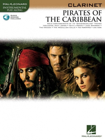 Pirates Of The Caribbean: Clarinet: Book & CD
