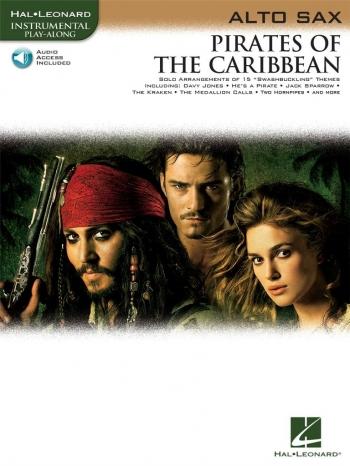 Pirates Of The Caribbean: Alto Saxophone: Book & CD