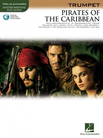 Pirates Of The Caribbean: Trumpet: Book & CD