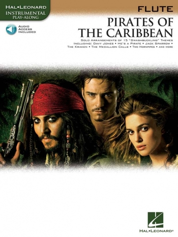 Pirates Of The Caribbean: Flute: Book & CD