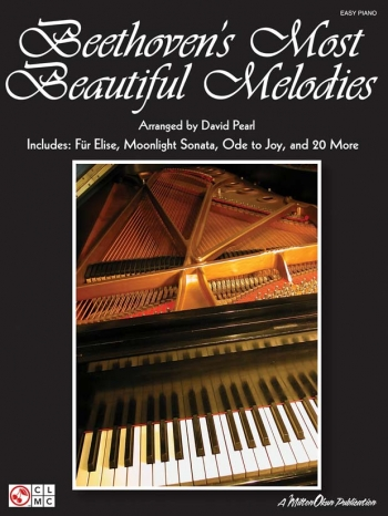 Beethoven Most Beautiful Melodies: Easy Piano