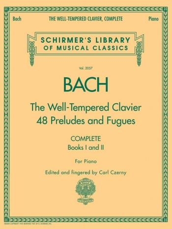 Well-Tempered Clavier Vol.1 & 2 48 Preludes & Fugues: Complete: Piano (czerny)