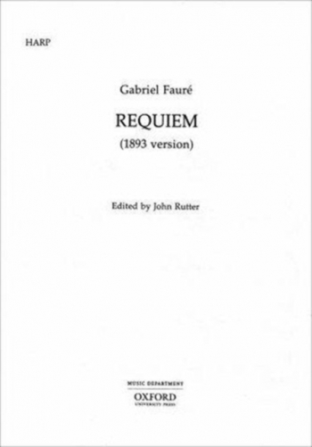 Requiem 1893 Version: Vocal: String Parts (set)