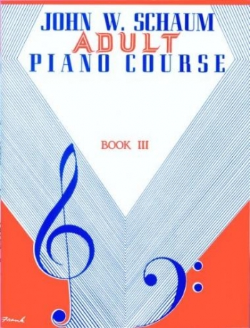 Schaum Adult Piano Course 3