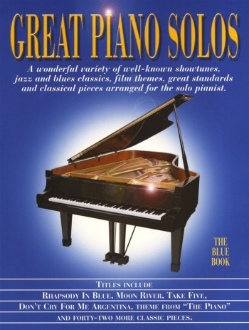 Great Piano Solos: The Blue Book