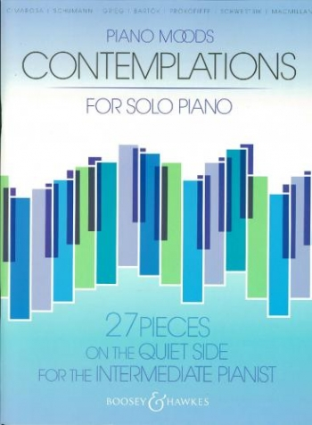 Piano Moods: Contemplations: 27 Piece On The Quiet Side