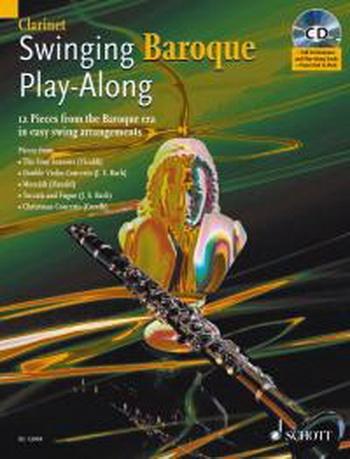 Swinging Baroque: Play Along: Clarinet: Book & CD