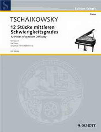12 Pieces Of Medium Difficulty: Piano (Schott)