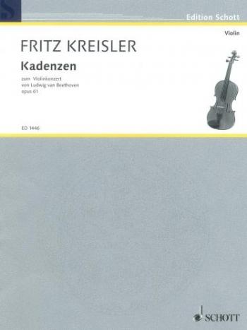Violin Concerto D Major Op.61: Violin & Piano (Schott)