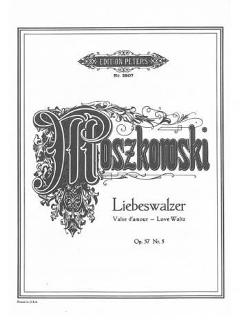 Love Waltz Op.57/5: Piano (Peters)