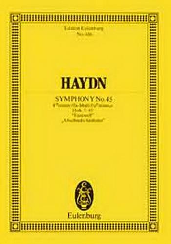 Symphony No.45 F Minor: Farewell: Miniature Score
