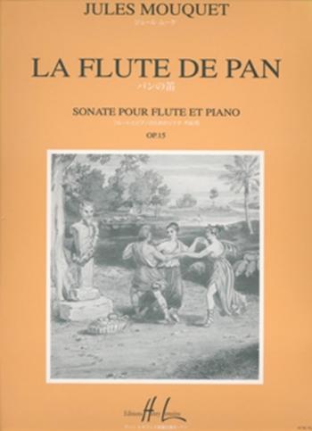Sonata Op15: La Flute De Pan:  Flute And Piano (Lemoine)