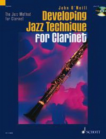 Developing Jazz Technique Clarinet: Vol.2 Book & Cd  (O Neill)