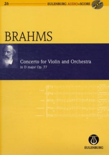 Concerto D Major: Violin: Op77  (Audio Series No 26)