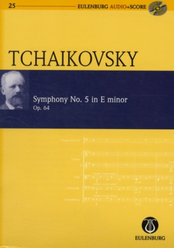 Symphony No 5: E Minor : Miniature Score (Audio Series No 25)
