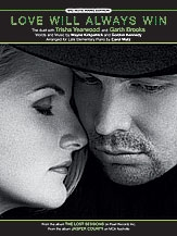 Love Will Always Win-big Note Piano-single Sheet