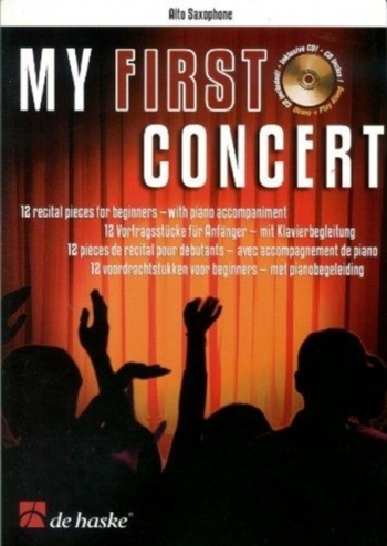 My First Concert: Alto Saxophone & Piano Book & CD