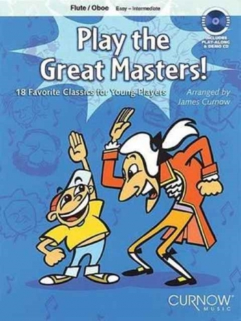 Play The Great Masters: Easy: Intermediate: Flute: Book & CD