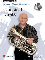 Classical Duets: Treble Clef Or Bass Clef: Euphonium Book & CD