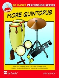 More Quintopus: 3 Quintets: percussion