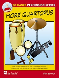 More Quartopus: 3 Quartets: percussion
