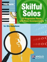 Skilful Solos: Alto Sax & Piano Book & Cd (sparke)