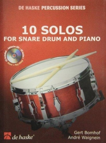 10 Solos: Snare Drum and Piano