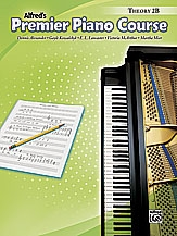 Alfred Premier Piano Course 2b: Theory