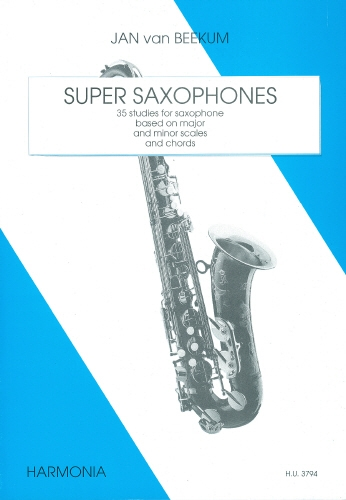 Super Saxophones: 35 Studies