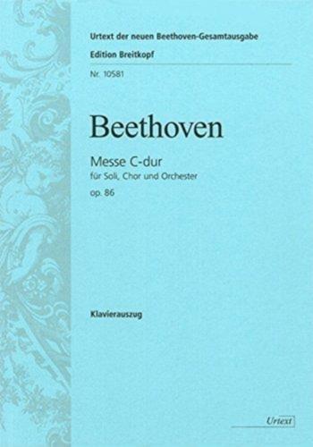 Mass C: Op 86: Vocal Score (Breitkopf)