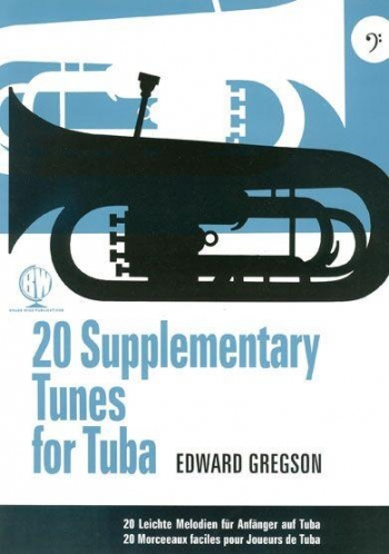 20 Supplementary Tunes Bass Clef For Tuba (Gregson)
