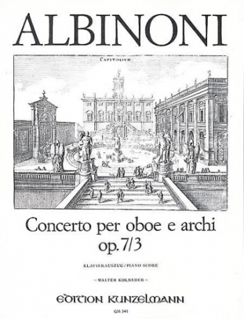 Oboe Concerto Op.7/6: Oboe & Piano  (Peters)