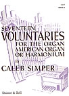 Seventeen Voluntaries Set 6: Organ