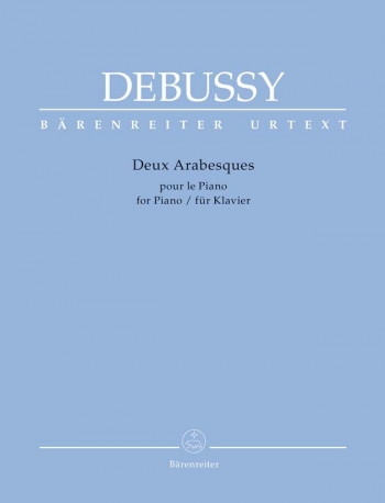 Deux Arabesques: Piano  (Barenreiter)
