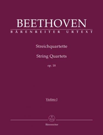 Beethoven: String Quartets: Op 18: Parts