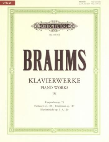 Works (klavierwerke): Vol.4