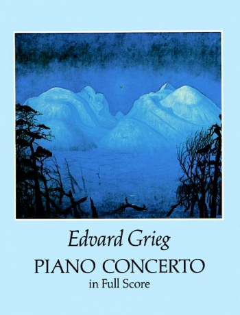 Concerto: A Minor: Op16: Piano: Miniature Score