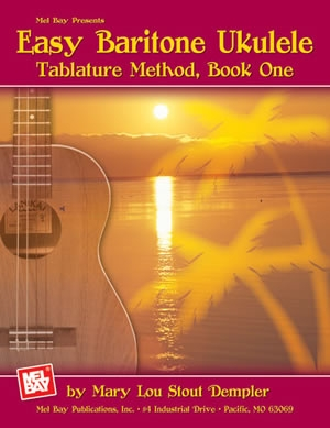 Easy Baritone Ukulele: Tab Method  (dempler)