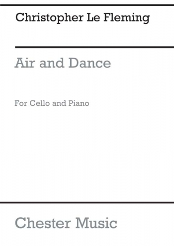 Air And Dance (Bc) (Archive Copy): Cello