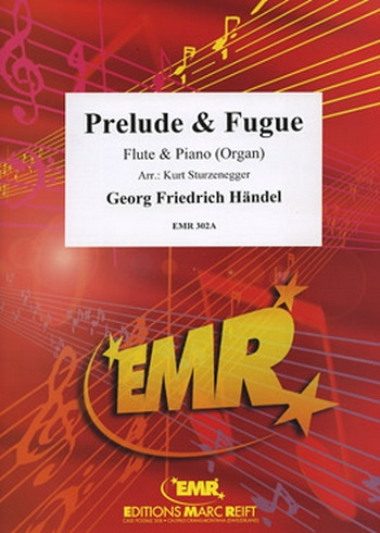 Prelude and Fugue: Flute & Piano (Marc Reift)