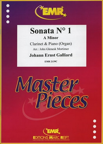 Clarinet Sonata: No 1: A Minor: Clarinet & Piano