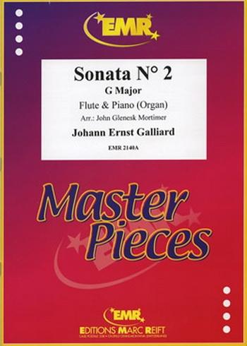 Sonata: No 2: G Major: Flute & Piano (Marc Reift)